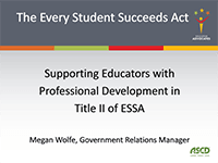 Supporting Educaotrs with Professional Development in Title II of ESSA-min