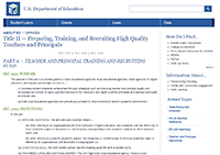 Title II Guidelines USDE