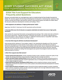 ESSA FAQs