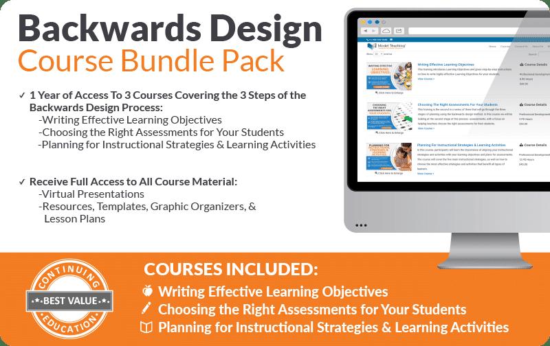 Backward Design Course Bundle Icon