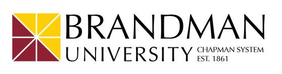 Brandman University Logo-White not round