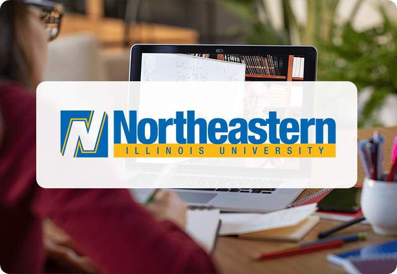 Online Learning Course Icon-NEIU