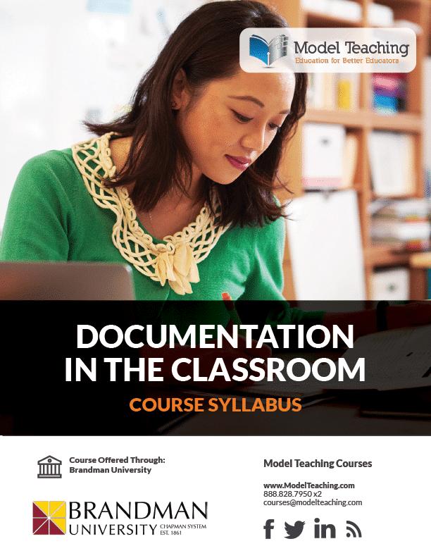 Syllabus- Documentation in the Classroom-1 Credit-BU-Icon