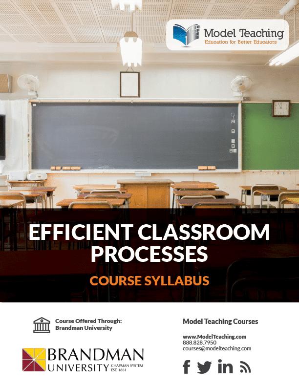 Syllabus-Efficient Classroom-2 Credits BU-Icon
