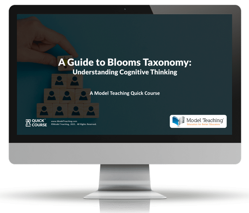Blooms Taxonomy Quick Course Computer