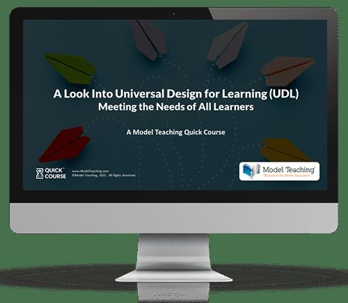 Universal Design Learning UDL Computer