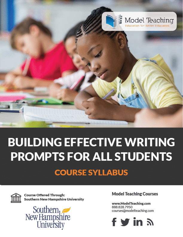 Building Writing Prompts-SNHU-Syllabus-Icon