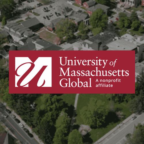 UMass Global Logo Background